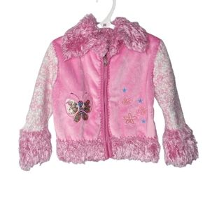 Ohhh So Cute Pink Fuzzy Sweater 6